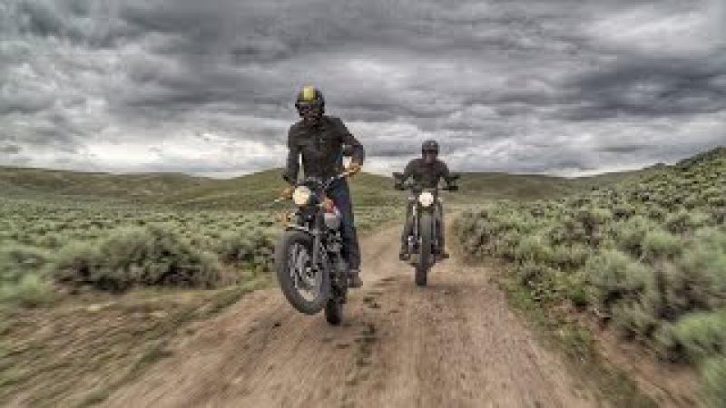 Scramblers in the Rockies! Ducati Scrambler vs Triumph Scrambler | ON TWO WHEELS