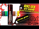 RIG V3 by V.A.M.P. and Half Moon Mods accessories  from vapehouse.ru