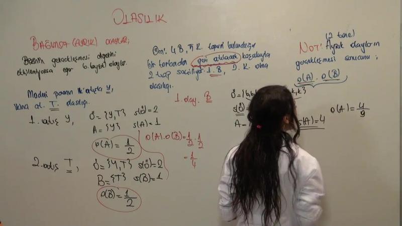 TEOG Matematik Olasılık