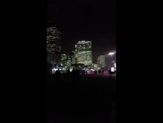 #Bonne #soirée #ladefense #parisbynight #janvier #paris #france🇫🇷❤️