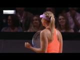Sharapova Match Point | Шарапова выиграла первый матч после дисквалификации