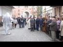 торжество в честь открытия памятника известному тернопольскому искусствоведу и историку Игорю Герети
