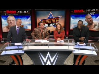 Wrestling Home: WWЕ Mоndаy Night RАW 22.08.2016 Pre-Show HD