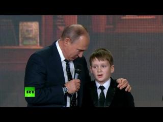 Путин пообщался с юными географами-вундеркиндами