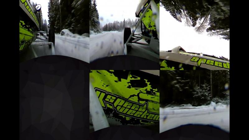 Frasse Alm - Jami Kalliomäki test, Speedcar Saukkola