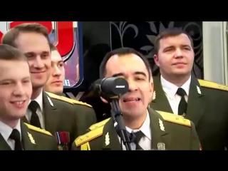 Хор МВД исполняет Get Lucky в прямом эфире