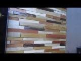 Декоры из дерева своими руками или как её называют 3д плитка из дерева