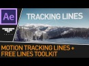3D Motion Tracked Lines Effect Free Lines Toolkit