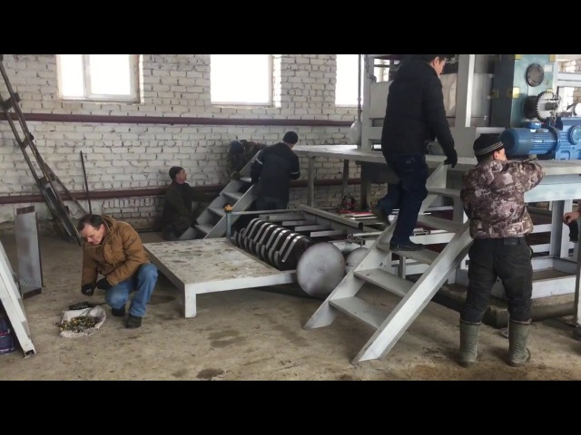 Оборудование для производства яичных лотков Установка пуско наладочные работы