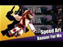 Speed Art1: Banner For Me.