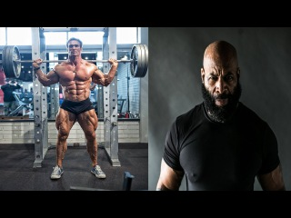 Birthday Squat Challenge - The Titan Mike O'Hearn, Follow The Lita, Legendary Bulo and Lance Keys
