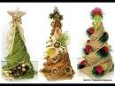 Papierowa Wiklina Splot Spiralny cz I choinki Newspaper weaving Christmas tree