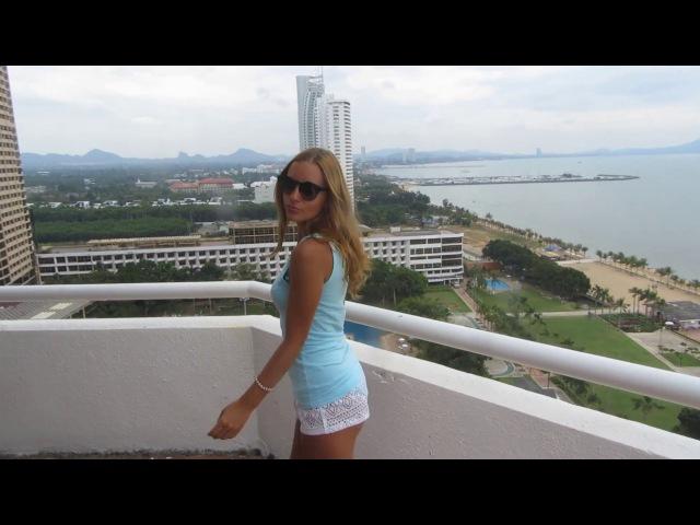 Тайланд. Паттайя. Отель Амбасадор. Вид на пляж с 18 этажа