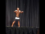 Joseph Lee posing routine