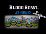 Blood Bowl Let's paint!!! Equipe d'Humains