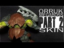 Painting an Orruk Megaboss Part 2 The Skin