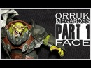 Painting an Orruk Megaboss Part 1 The Face