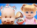Куклы пупсики КИНДЕР СЮРПРИЗ игрушки для девочек Как МАМА. Игра в дочки-матери с пупс ом СПТВ