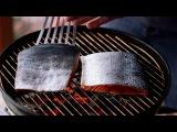 How to grill an Alaska salmon
