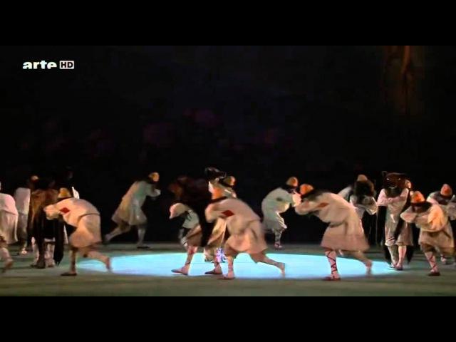 Daria Pavlenko danse Le Sacre du Printemps