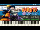 Wind - Naruto Shippuden Opening 17 [Slow + Sheet Music] (Piano Tutorial)