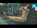 SUPER MARINE in Army Gym - Michael Eckert | Muscle Madness
