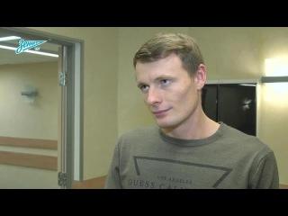 Евгений Чернов на Зенит-ТВ Отпуск провел отлично