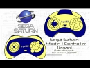 SEGA SATURN GAMEPAD USB (classic controller) - Unboxing