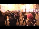 Киев. 20 февраля, 2017. Ночные столкновения.
