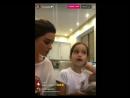 Ксения и Маруся Бородина в Инстаграм  05.02.2017