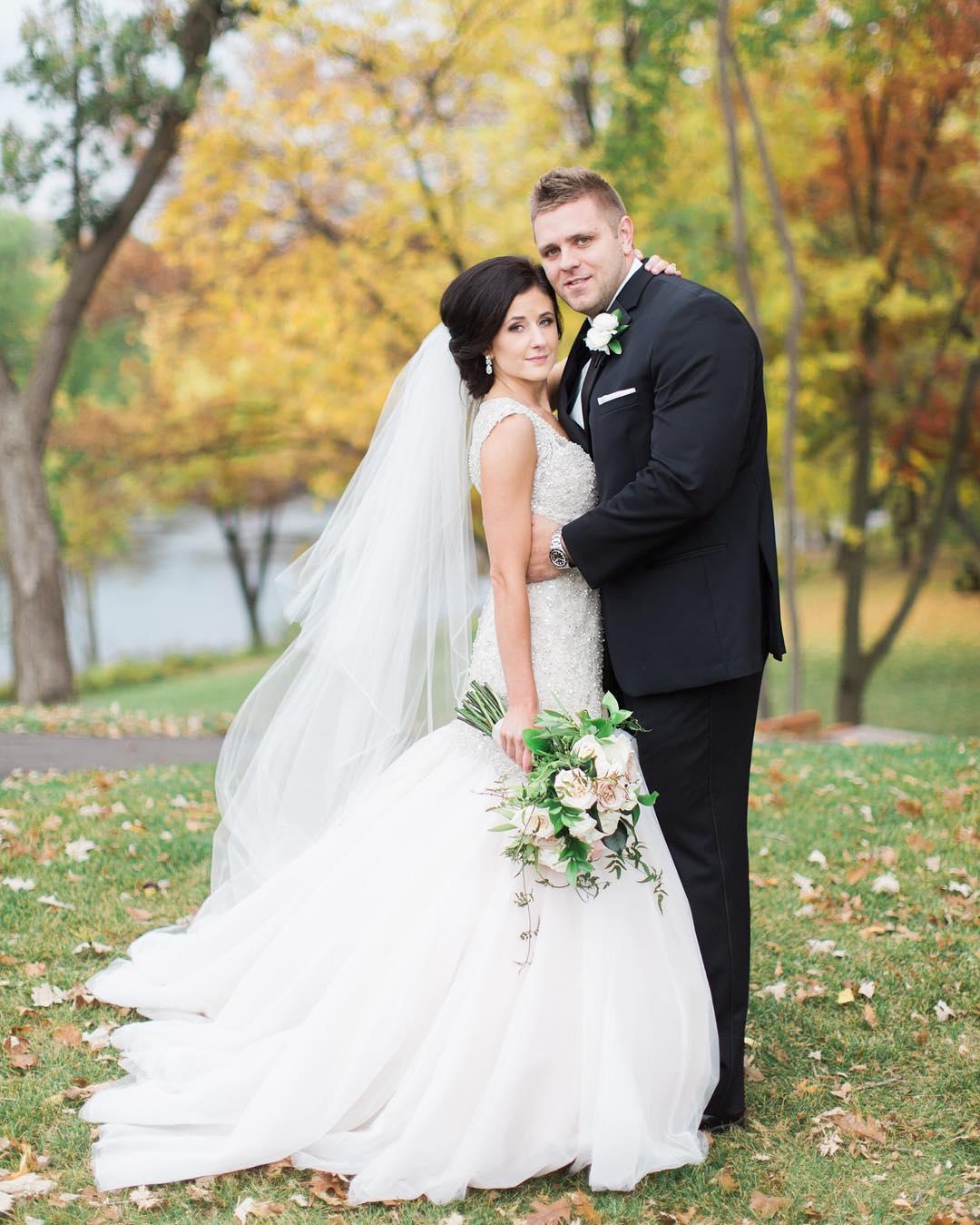 Свадьбы в октябре (5 фото)