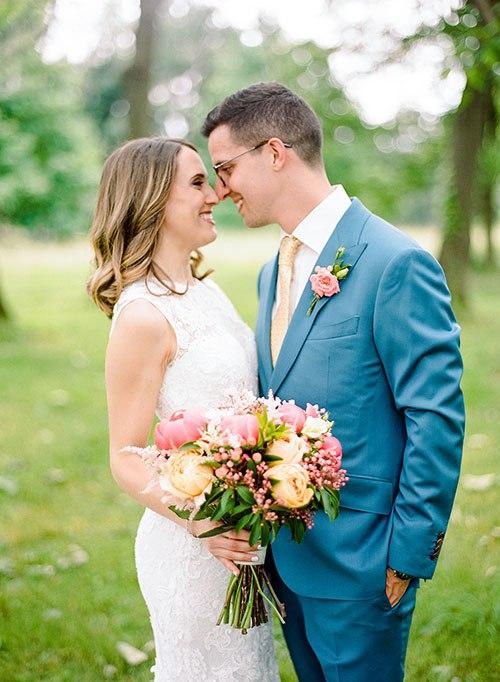 Свадьба, согретая июньским солнцем (45 фото)