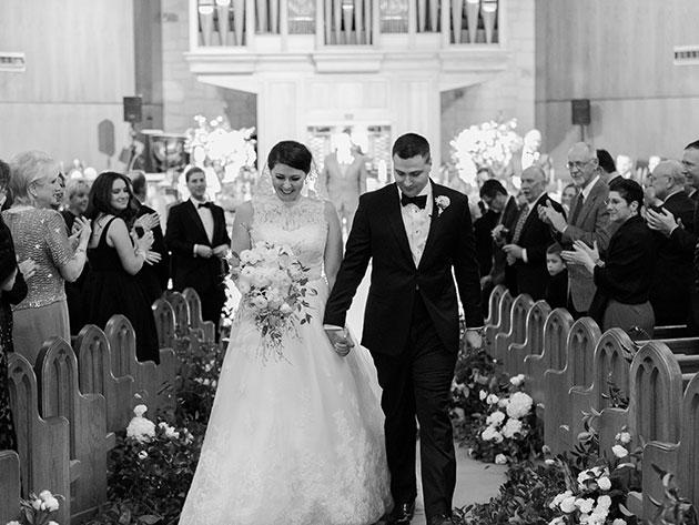 Осенняя свадьба в белоснежном стиле (12 фото)