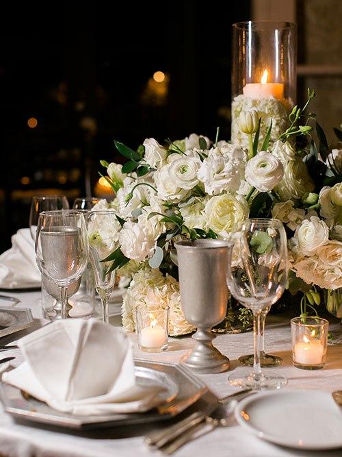 Q842Q0N5dV8 - Осенняя свадьба в белоснежном стиле (12 фото)