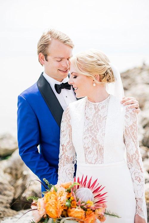 Lbi3Gdo5IAo - Свадьба на берегу моря (23 фото)