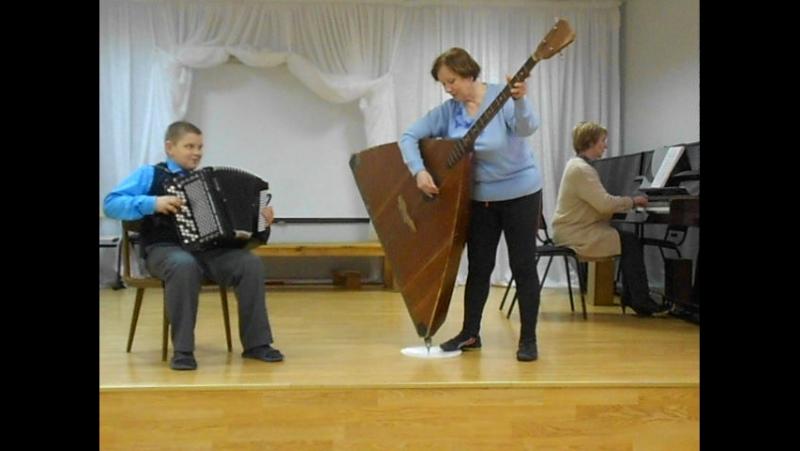 О.Фельцман. Финская народная песня Рулатэ. Репетиция