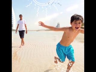В Дубай всей семьей ❤️
