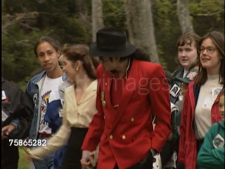 Michael & Lisa Marie at Neverland