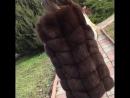 🌸Жилетка коричневая (очень красивая) 📸Фото вживую 🔮Длина - 75 см 👑Мех густой 💣Качество отличное 💰Цена - 5700 грн 💌Для заказа пиш