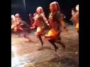 ансамбль Нартеби - танец Мтиулури (30.11.2016)