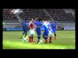 Обычный матч в FIFA 15 Ultimate team. Лаги, баги, вылеты.