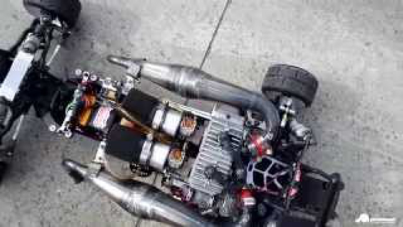 OBR TWIN 57cc 103mph =165kmh 100 MPH CLUB