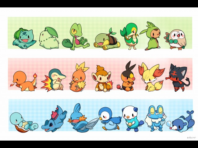 Pokemon Starters [Outdated Version]
