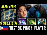 Abed Dota 2 Meepo First 9K Pinoy Player - Best Meepo Player