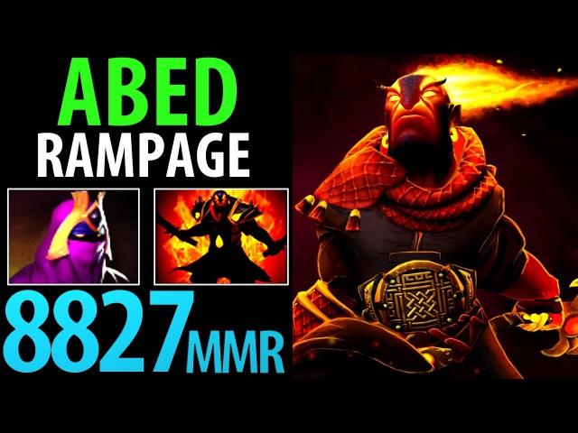 Abed Dota2 [Ember Spirit] Rampage- 8827MMR Road to 9K