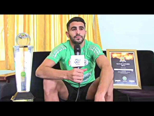 Algérie Foot CAF Riyad Mahrez élu Joueur africain de l'année 2016