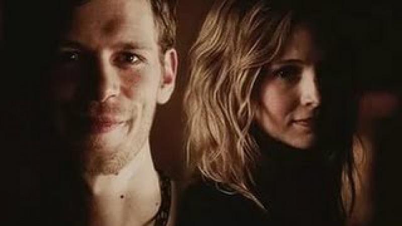 Клаус и Кэролайн. Дневники вампира.Все моменты с Кларолайн