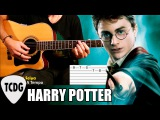 How To Play Harry Potter Theme Song: Easy Acoustic Guitar Tab Lesson TCDG