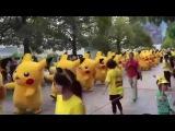 Pokemon GO. Покемоны. Пикачу. Pikachu. Армия. Армия пикачу. Япония.(Ржака №19)