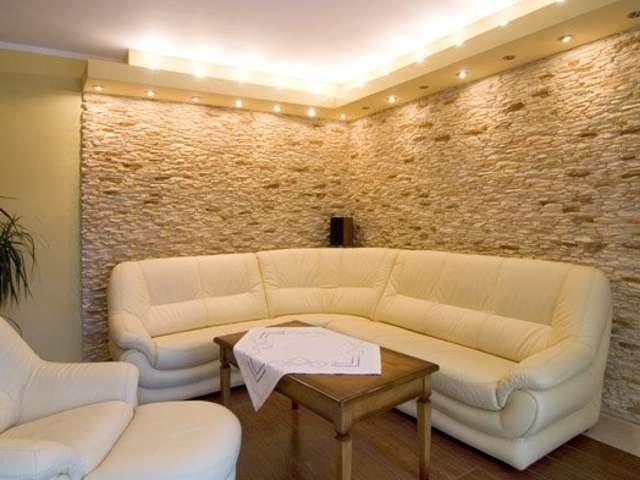 Декоративная плитка под камень. Варианты отделки внутри помещений Decorative tiles A - Video